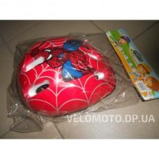 Шлем MS 0169 Спайдермен красный