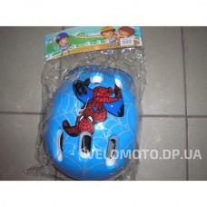 Шлем MS 0169 Спайдермен синий