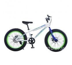 Велосипед BMX Profi 20XD10-1 (белый)