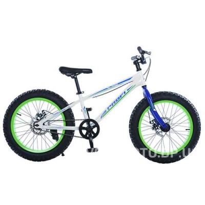 Велосипед BMX Profi 20XD10-1 белый