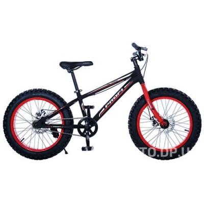 Велосипед BMX Profi 20XD10-2 черно-красный