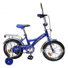 Велосипед детский Profi  12 P1233 синий