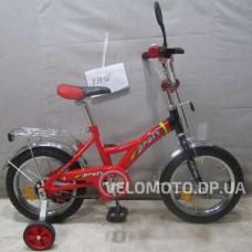 Велосипед детский Profi  12 P1236 красно-черный