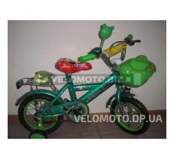 Велосипед детский FORT Panda 12 (зеленый)