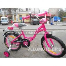 Велосипед детский PROF1 14Д. L1423 Butterfly (малиновый)