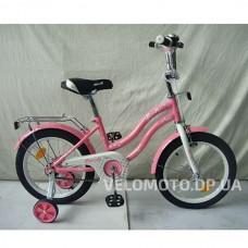Велосипед детский PROF1 14Д. L1491 Star (розовый)