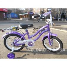 Велосипед детский PROF1 14Д. L1493 Star (фиолетовый)