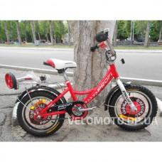 Велосипед детский PROF1 14Д. G1445 Original boy (красный)