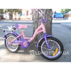 Велосипед детский PROF1 14Д. G1421 Butterfly (розовый)