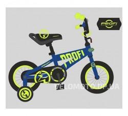 Велосипед детский PROF1 14Д. T14172 Flash (синий)