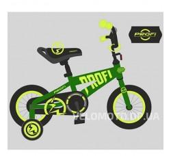 Велосипед детский PROF1 14Д. T14173 Flash (зеленый)