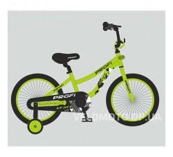 Велосипед детский PROF1 14Д. T14153 Space (салатовый)
