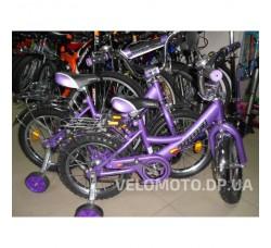 Велосипед детский Profi 14 P1448 фиолетовый