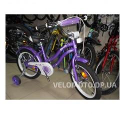 Велосипед детский PROF1 16Д. L1693 Star (фиолетовый)