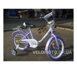 Велосипед детский PROF1 16Д. L1683 (фиолетовая покрышка)