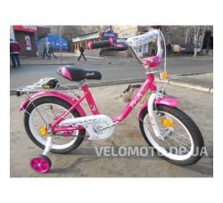 Велосипед детский PROF1 16Д. L1681 Flower (розовый)
