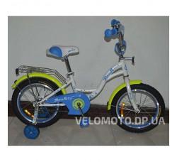 Велосипед детский PROF1 16Д. G1624 Butterfly (белый)