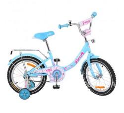 Велосипед детский PROF1 16Д. Y1612 Princess (бирюза)