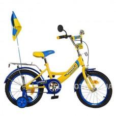 Велосипед PROFI UKRAINE детский  P 1649 UK-2 16