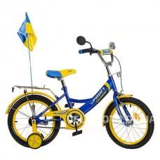 Велосипед PROFI UKRAINE детский P 1649 UK-1 16