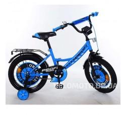 Велосипед детский PROF1 16Д. Y1644 Original boy (синий)