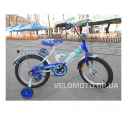 Велосипед детский FORT Boombox 16 синий