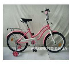 Велосипед детский PROF1 18Д. L1891 Star (розовый)