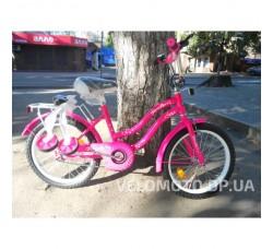 Велосипед детский PROF1 18Д. L1892 Star (малиновый)