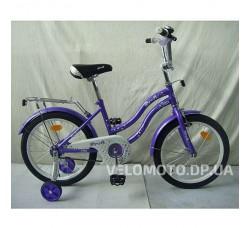 Велосипед детский PROF1 18Д. L1893 Star (фиолетовый)