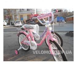 Велосипед детский PROF1 18Д. L1881 Flower (розовый)