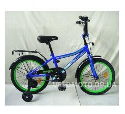Велосипед детский PROF1 18Д. Y18103 Top Grade (синий)