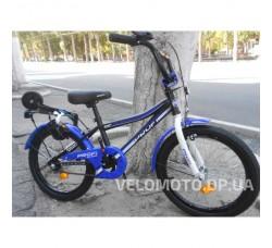 Велосипед детский PROF1 18Д. Y18101 Top Grade (черный мат.)