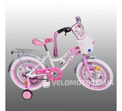 Велосипед детский PROFI P1863 H-W Hello Kitti