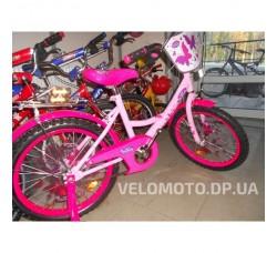 Велосипед детский PROFI P1856 F-B miss Butterfly