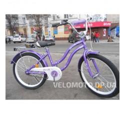 Велосипед детский PROF1 20Д. L2093 Star (фиолетовый)