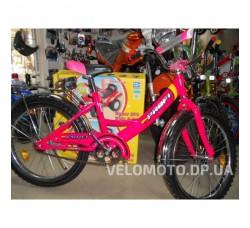 Велосипед детский PROFI 20 P2044 розовый