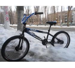 Велосипед ARDIS 20 MAVERICK BMX FR (чёрно-синий)