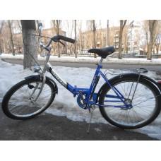 """Велосипед складной Ardis Fold CK 24"""" (синий) с освещением"""