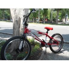Велосипед ARDIS 20 MAVERICK BMX FR (красно-белый)