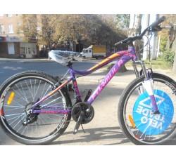"""Велосипед 26"""" Formula MYSTIQUE 2.0 2019 (фиолетово-оранжевый)"""