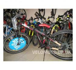 """Велосипед Formula Hummer AM 14G Vbr 26"""" 2016 черно-красный"""