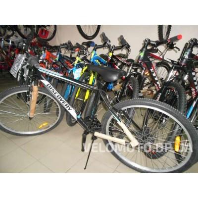 Велосипед Discovery Attack 26 2016 (черно-белый)