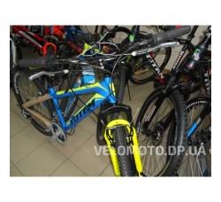 Велосипед TOTEM 26 CT MTB SHARK (сине-желтый матовый)