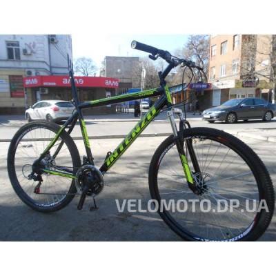 Велосипед Intenzo Legion 26 (черно зеленый) РАСПРОДАЖА!!!