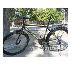 Велосипед Intenzo Olimpic 26 (черно желтый матовый) РАСПРОДАЖА!!