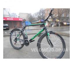 Велосипед Intenzo Olimpic 26 (черно зеленый) РАСПРОДАЖА!!