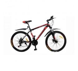 Велосипед CrossBike Hunter 26″ (чёрно-красный)