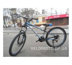 Велосипед CrossBike Racer 26″ (чёрно-синий)