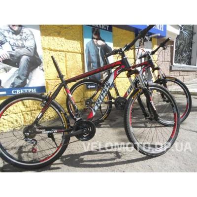 Велосипед CrossBike Atlas 26″ (чёрно-красный)