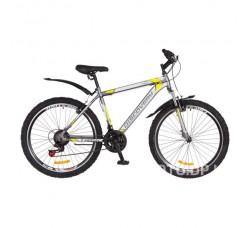 Велосипед Discovery 26 Trek AM 2018 (серо-желтый)
